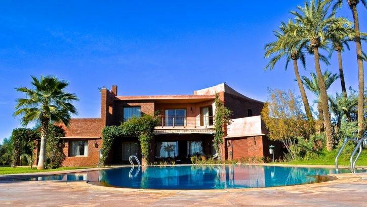 très belle villa en Palmeraie