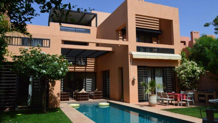 Magnifique villa moderne sur Golf