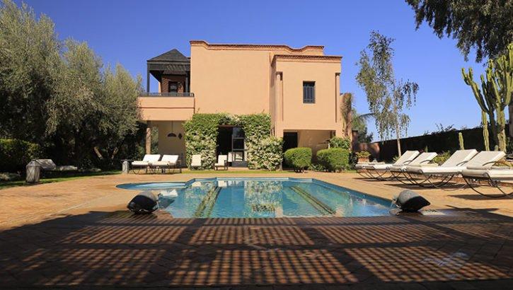 Magnifique villa à vendre route de Ouarzazat