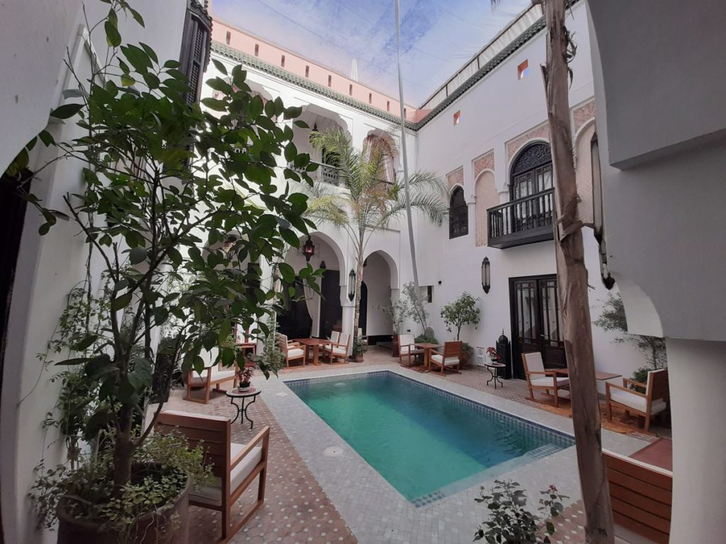 Riad and SPA, nine bedrooms on 300 sqm