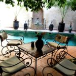 Riad – Guest house, eight rooms, very large and deep pool