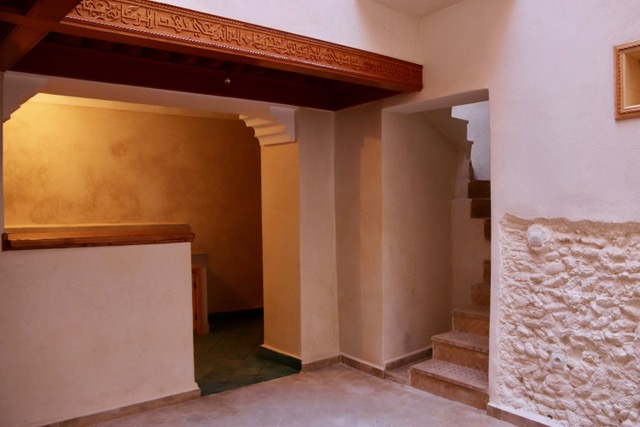 Very accessible riad, between the Atay restaurant and the Ben Youssef madrasah